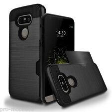 LG G5 - Shockproof Slim Wallet Credit Card Holder Case Cover [Pro-Mobile]