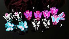Ohrstecker Schmetterling Butterfly Ohrringe Ohrhänger Farbwahl Ohrschmuck