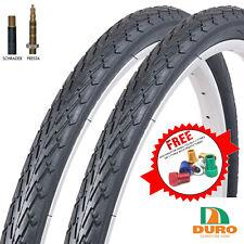 Duro Cordoba 700 x 35c Bike Tyres & Presta or Schrader Inner Tubes