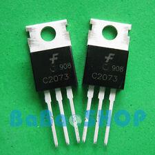 20pcs C2073 2SC2073 2073 AMP Output Transistor FSC TO-220 New