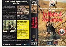 LA NOTTE DI SAN LORENZO (1982) VHS