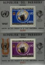 Space by Paraguay Michel Bk 75-76 Souvenir sheets
