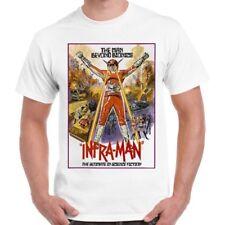 Super Inframan Superhero Ultraman Asia Hong Kong Kamen Rider Retro T Shirt 669
