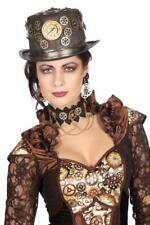 Steampunk Zylinder Rokoko Hut Pirat Minihut Mittelalter Piratenhut Kostüm Kleid