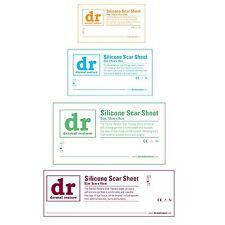 SILICONE cicatrice trattamento-GEL foglio-riparazione / rimozione / riduzione-Tutte le Taglie