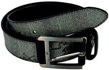 Cintura Uomo Nera La Martina Belt Man Black 0.23.C40