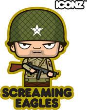 Iconz Cartoon Tee Shirt Airborne Paracaidista salvar Al Soldado Ryan Normandía Día D