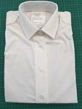 WOMENS WHITE ROYAL NAVY / MGS LONG SLEEVE DRESS SHIRT  - Sizes , NEW