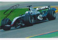 David Coulthard signed 12x8 Image H photo  UACC Registered dealer COA