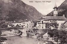 BIGNASCO (Svizzera): VALLE MAGGIA