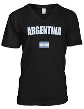 Argentina Federal Republic En Union Y Libertad Argentine Mens V-neck T-shirt