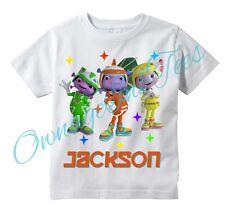 FLOOGALS Custom t-shirt Personalize, Boomer, Fleeker, Flo, Sprout