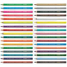 LYRA 12 Super FERBY Farbstifte natur Buntstifte Malstifte Kinder Stifte Schule