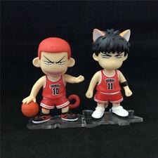 Slam Dunk Cute 10# Monkey Hanamichi Sakuragi 11# Fox Rukawa Kaede Figurine Figur