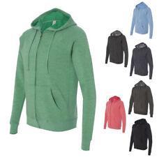 Independent Trading Co. Unisex Special Blend Raglan Hooded Full-Zip Sweatshirt
