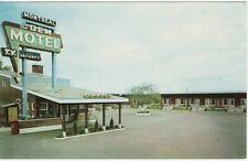 Vintage POSTCARD c1958 Gem Motel MONTREAL, QUEBEC PQ