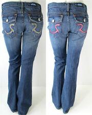 Rock&Republic Denim Jeans Stevie Snake Pink Tan Hose Neu 27