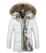 2017 Womens Fleece Jackets Fur Winter Fur Hooded Duck Down Coat Parka Outerwear