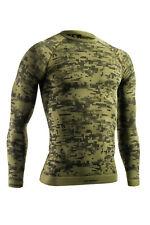 Funktionsshirt TERVEL DIGITAL, Herren langarm Sportshirt, Camouflage Shir mlt