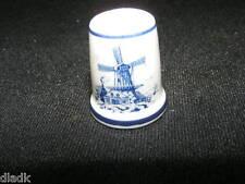 Royal Mosa Porcelain Collectors Thimble