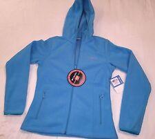 Columbia Women's THERMAL COIL Zip-Up Hooded Fleece Jacket Mint  Color Sz: XS, S