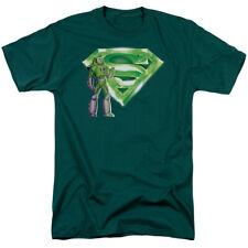 Superman Lex & Kryptonite Logo Mens Short Sleeve Shirt