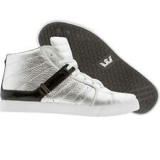 $180 New Men Supra Premium Indy NS silver skytop yeezy skate Fashion Sneaker