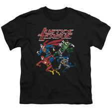 Jla Pixel League Big Boys Youth Shirt