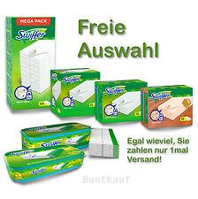 Swiffer Bodentücher Nachfüller Trocken Tücher Holz & Parkett Feuchttücher WET