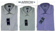 Chemise homme ARROW coupe régulière Easycare coton riche manches courtes