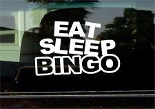 EAT SLEEP BINGO VINYL STICKER