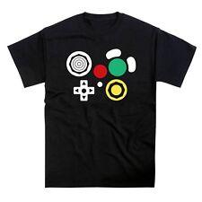 Nintendo Gamecube Controller Joypad Button Layout T-Shirt