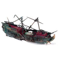 aquarium ornement épave bateau à voile naufragé navire réservoir de