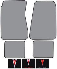 1968-1972 Pontiac LeMans Loop Carpet Logo Floor Mat 4pc