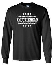 KNUCKLEHEAD 36-47 Longsleeve T-shirt - S to 5XL - Harley Davidson Sturgis