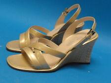 ESCADA DESIGNER WEDGE SANDALS *Style 6117-772* S 7.5
