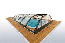 Schwimmbadüberdachung Klasik Clear A Pool Überdachung Schwimmbadabdeckung