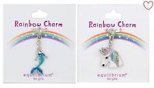 Mermaid Unicorn Girls Accessories Rainbow Charm Clip