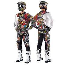 O 'Neal Mayhem Crank Combo Set Pantaloni Jersey Guanti moto cross MX ENDURO QUAD