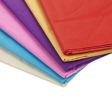 20 láminas 50 x 70cm de color Papel Seda Envolver Regalo Arte Niños