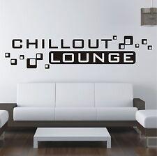 Chillout Lounge Sofa Bett Folie Wandtattoo Sticker Wandaufkleber Aufkleber w514