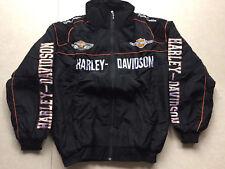 2018 Harley-davidson black Embroidery EXCLUSIVE JACKET suit F1 team racing