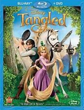 Tangled (Blu-ray/DVD, 2011, 2-Disc Set)