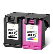 Cartouches d'encre compatibles HP301 HP 301 XL Noir / Couleurs à l'unité par lot