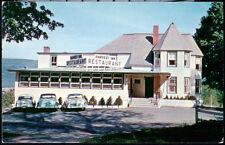 MANCHESTER VT Harvest Inn Restaurant Vintage 1950's Cars Old Vermont Postcard