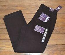 Gloria Vanderbilt Original Amanda Jean Heritage Fit Tapered Leg Rich Cocoa Denim