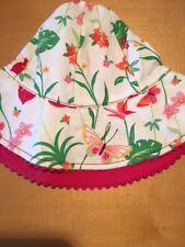 Gymboree hat chin strap Splash Western Prairie Grown With Love Strawberry Farm