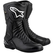 Alpinestars SMX-6 V2 Gore-Tex Waterproof Motorcycle Motorbike Boots - Black