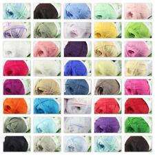 Hot 1Skein X 50g Baby Natural Smooth Soft Bamboo Cotton Knitting Yarn Knitwear