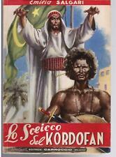 SALGARI, Lo sceicco del Kordofan, Carroccio 1947